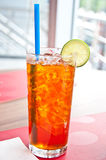 Lemon tea Royalty Free Stock Images