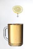 Lemon and tea. Stock Image