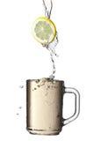 Lemon and tea. Stock Photography