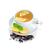 Lemon tea Royalty Free Stock Image