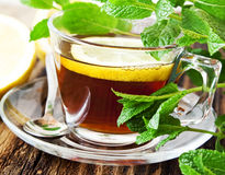 Lemon Tea Stock Photos