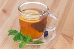 Lemon Tea with mint Royalty Free Stock Photos