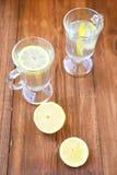 Lemon tea Stock Photo