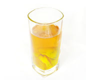 Lemon Tea. In white background Royalty Free Stock Images