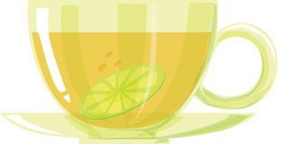 Lemon teacup Stock Photos