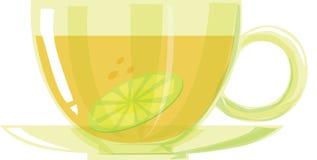 Lemon teacup Stock Photos