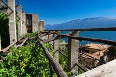 Free Lemon Tree Grove In Gargnano Village, Lake - Lago - Garda, Lombardy, Italy Royalty Free Stock Photo - 197067295