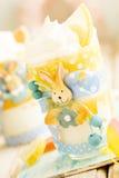 Lemon trifle Stock Images