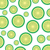 Lemon Tropical And Exotic Fruit Pattern Royalty Free Stock Images