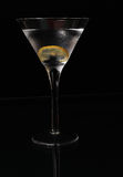 Lemon Twist Martini Royalty Free Stock Image