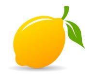 Lemon vector icon Royalty Free Stock Photography