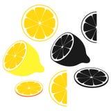 Lemon. Vector illustration (EPS 10 royalty free illustration
