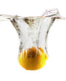 Lemon in water. Stock Photography