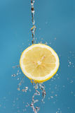 Lemon and Water Stock Photos
