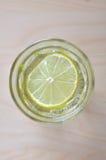 Lemon water Royalty Free Stock Images
