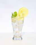 Lemon water Stock Photos