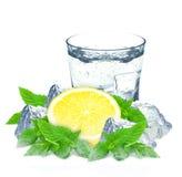 Lemon and water Royalty Free Stock Photo
