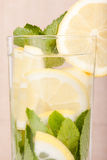 Lemon water Stock Photography
