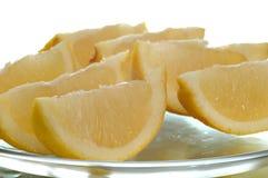 Lemon Wedges stock photos