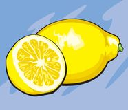 Lemon Wedges Stock Images