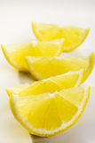 Lemon Wedges Stock Photos