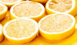Lemon wheels extended Stock Images