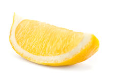 Lemon on white Royalty Free Stock Photo