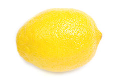 Lemon on white Stock Image