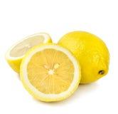 Lemon  on white background Royalty Free Stock Images
