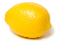 Lemon on white background Royalty Free Stock Image