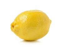 Lemon on white background Royalty Free Stock Image