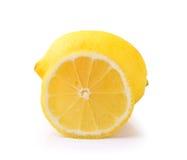 Lemon on white background Stock Image