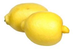Lemon on a white background Royalty Free Stock Photography