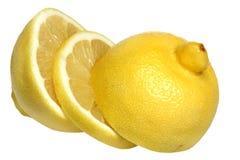 Lemon on a white background Stock Image