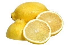 Lemon on a white background Royalty Free Stock Photos