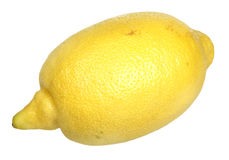 Lemon on a white background Stock Images