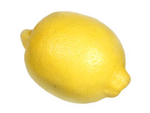 Lemon on a white background Royalty Free Stock Image