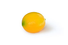 Lemon on white Stock Photo