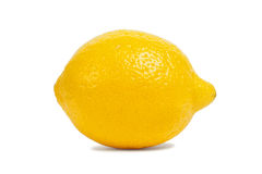 Lemon on white Stock Photography