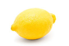 Lemon whole isolated on a white beckground Stock Photo