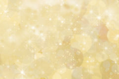 Lemon Yellow Abstract Star Background Royalty Free Stock Photo