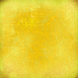 Lemon yellow grunge scratched background Royalty Free Stock Photography