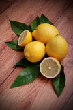 Lemon yellows Royalty Free Stock Images