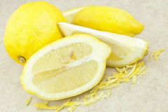 Lemon Zest Stock Photos