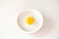 Lemon zest royalty free stock photos