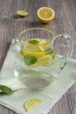 Lemonad med mintkaramellen Royaltyfri Fotografi