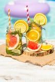 Lemonad med nytt Royaltyfria Foton