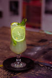 Lemonad och mintkaramell Arkivfoto
