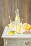 Lemonaddrinkar Fotografering för Bildbyråer