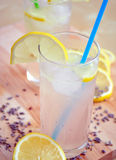 Lemonade. Refreshing lemonade for a hot summer day Royalty Free Stock Images
